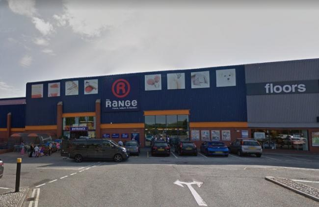 The Range in Eastbourne - a new store containing a garden centre and Iceland is set to open in Newhaven in April