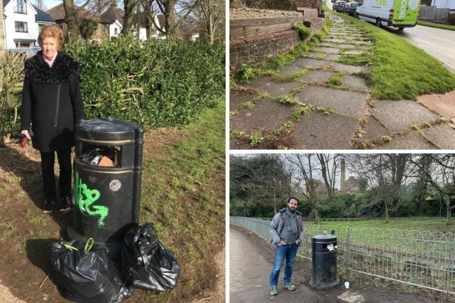 More bins, verge cutting and the removal of weeds from pavements are also part of a raft of measures aimed at improving the