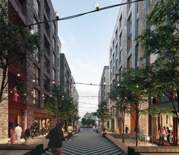 The Argus: An artist's impression of part of the Edward Street Quarter development