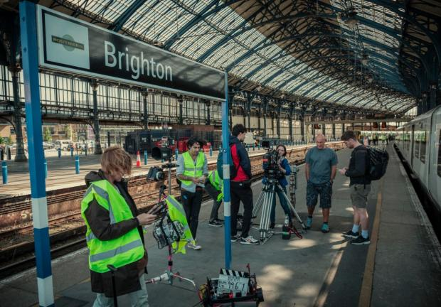 The Argus: Filming for the Netflix hit also took place at Brighton station