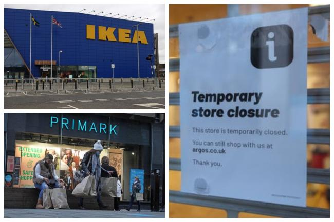 The latest from popular retailers after road-map out of lockdown hints at April 12 reopening