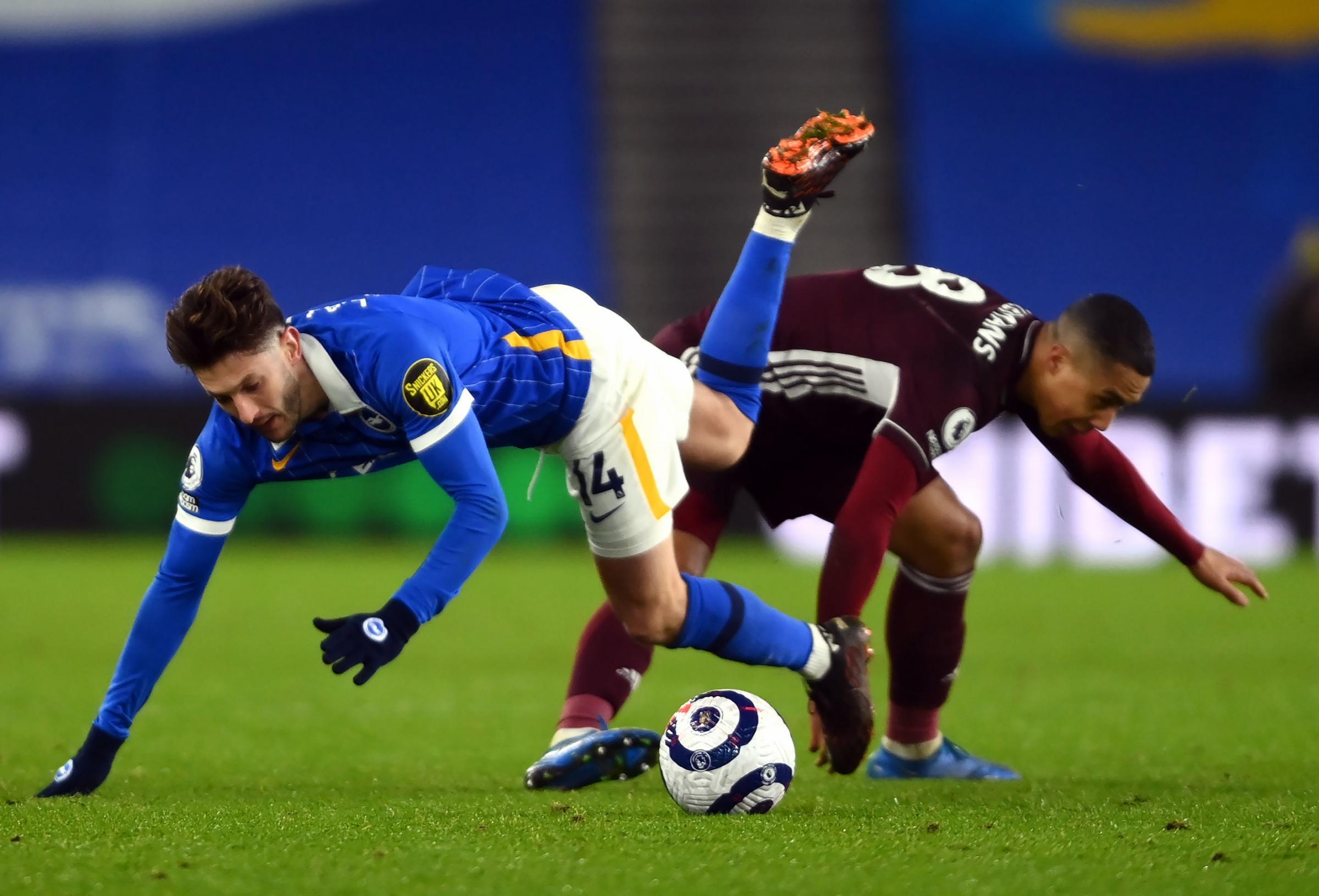 Adam Lallana's verdict as Albion lose to Leicester