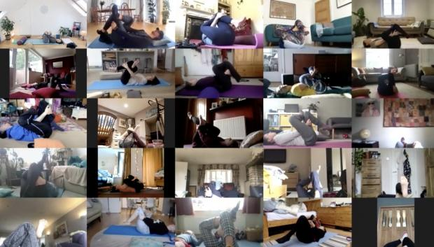 The Argus: Brighton-based Suzy has started running online yoga classes for long Covid sufferers