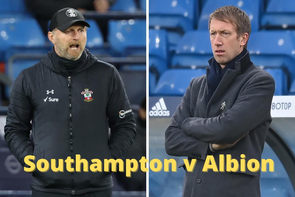 Graham Potter speaks ahead of Southampton v Albion