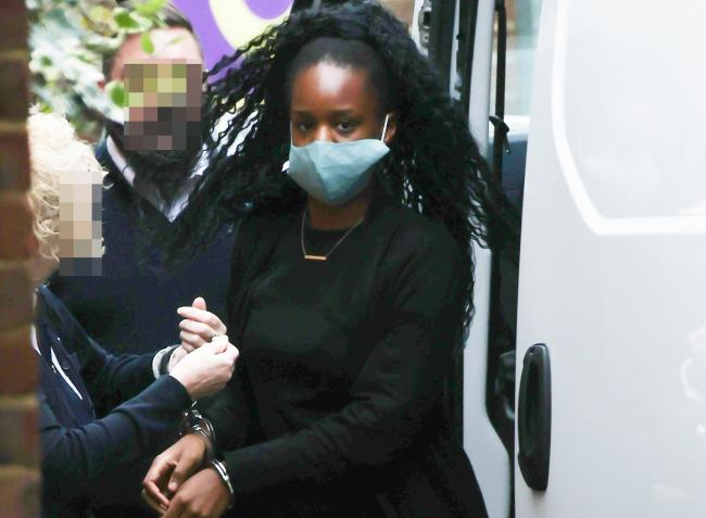 Verphy Kudi outside Brighton Magistrates' Court in November 2020