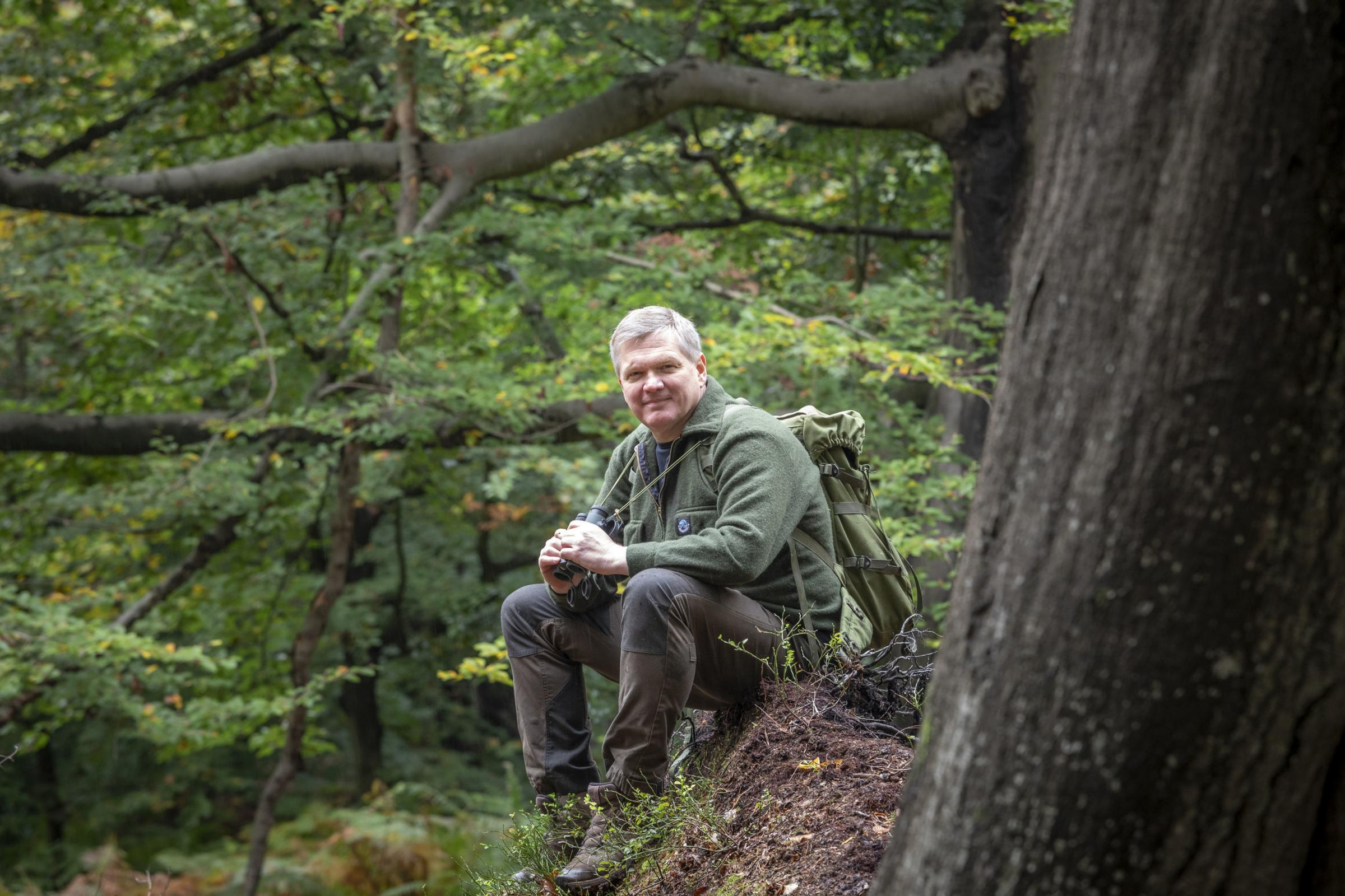 Undated Handout Photo of Ray Mears. See PA Feature BOOK Mears. Picture credit should read: PA Photo/Jonathan Buckley. WARNING: This picture must only be used to accompany PA Feature BOOK Mears. WARNING: This picture must only be used with the full
