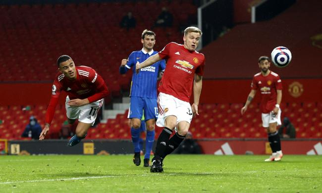 Mason Greenwood scores to send Albion to defeat at Old Trafford