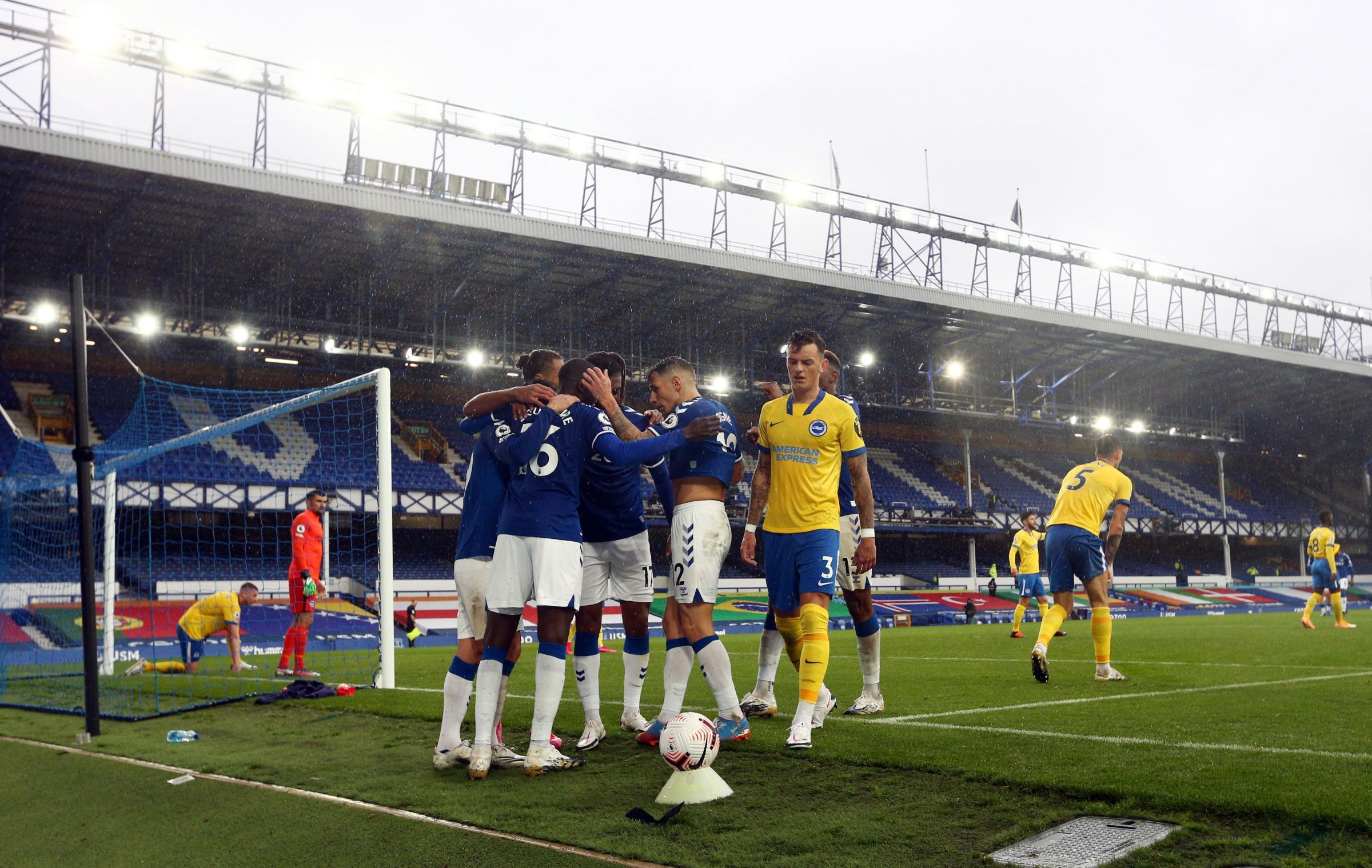 Everton star confident for Albion clash