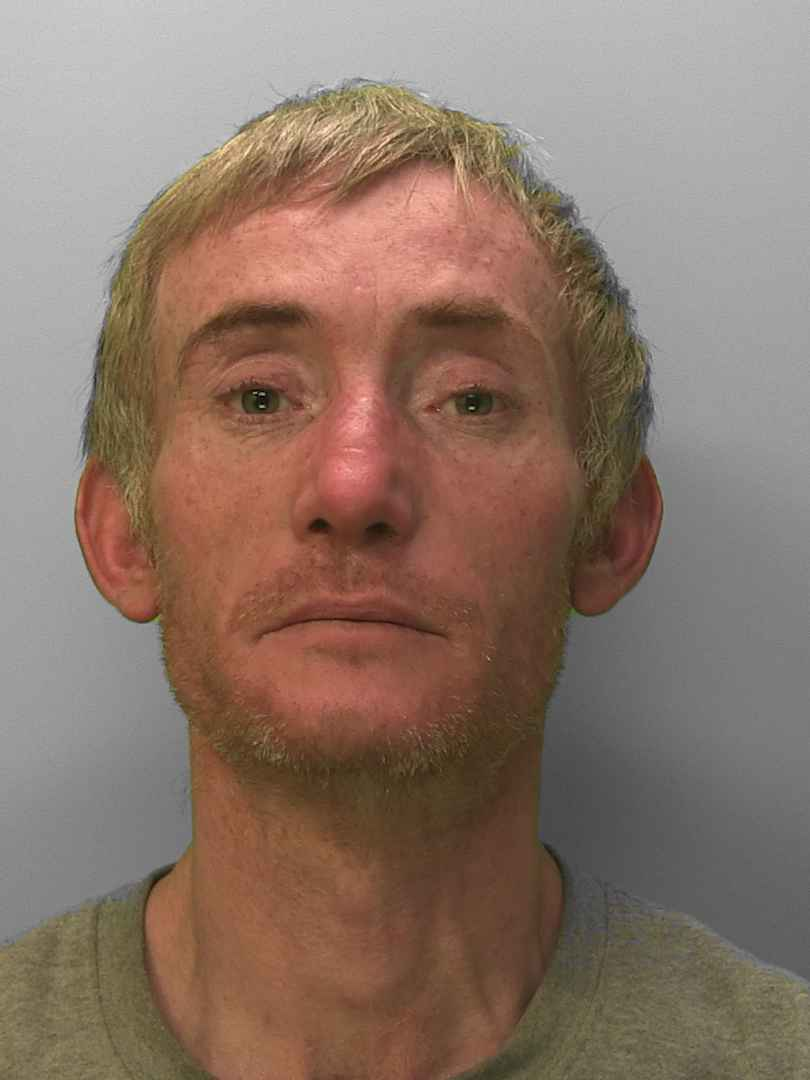 Christopher Way has been jailed for shoplifting in Worthing, including stealing 111 Easter eggs from Tesco in Broadwater