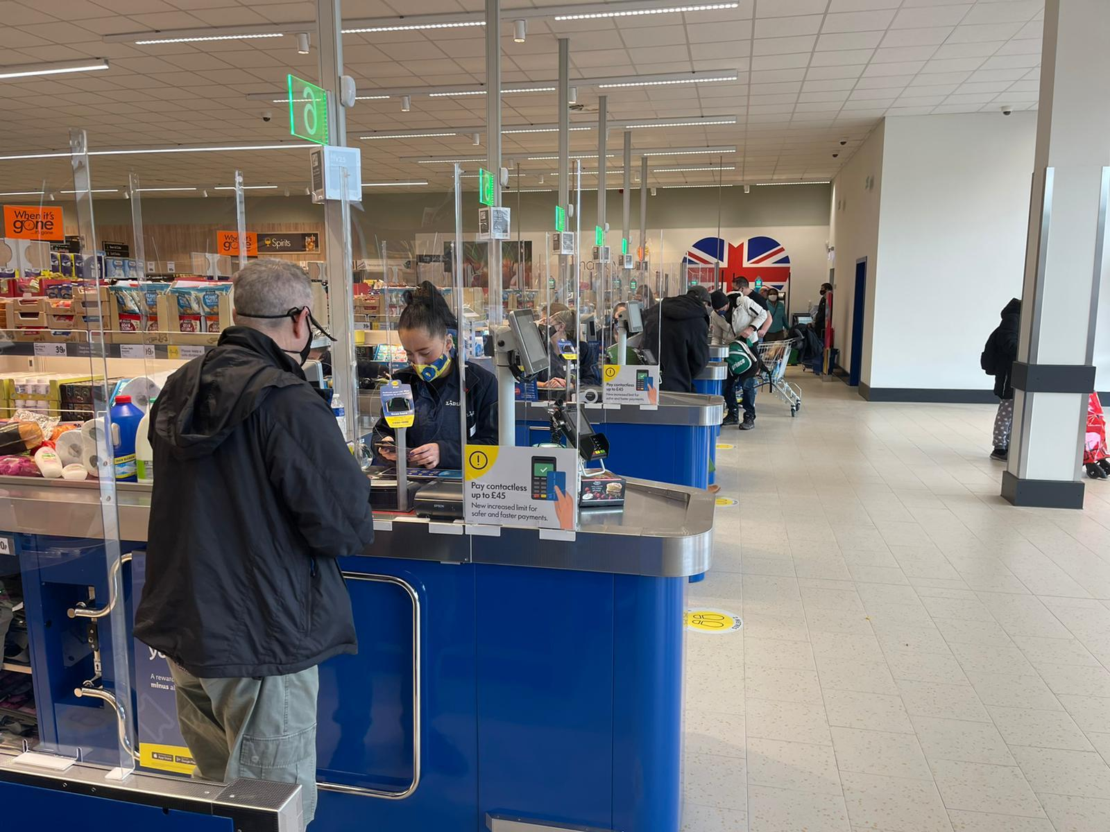 A first look inside the new Lidl store at the Goldstone Retail Park in Hove