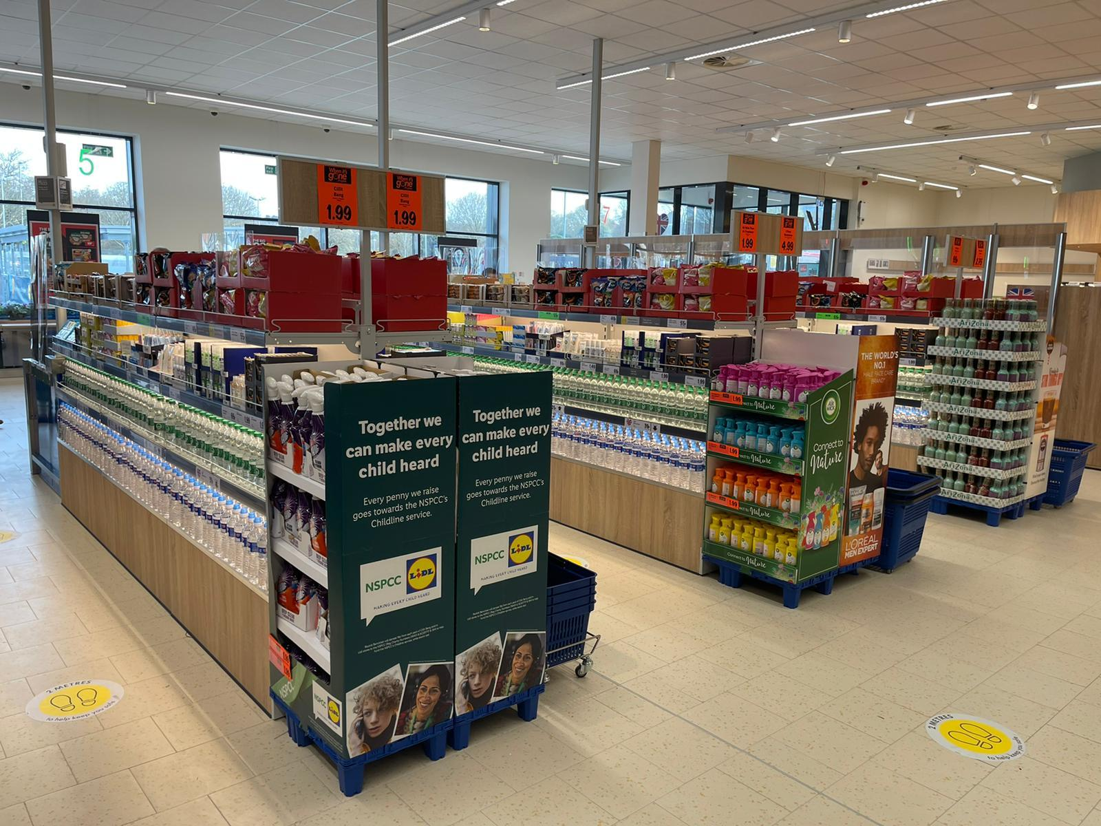 A new Lidl supermarket has been opened at the Goldstone Retail Park in Hove
