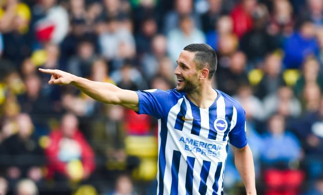 Albion​ striker Florin Andone looks set to get his first piece of action since June 2020.