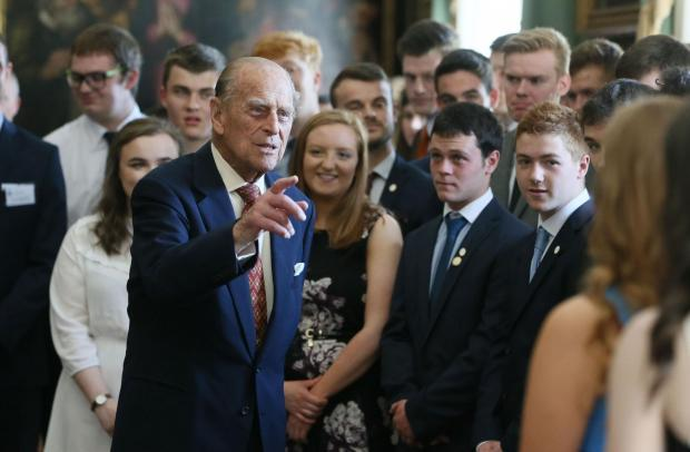 The Argus: The Duke of Edinburgh hosting the Duke of Edinburgh's Award gold award presentations in 2017