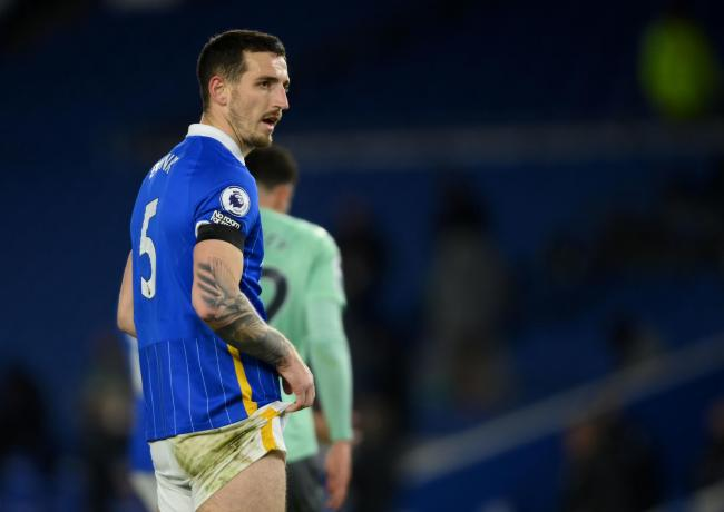 Skipper Lewis Dunk felt Albion cost themselves in the first half of their goalless draw against Everton by being sloppy when they were in possession.