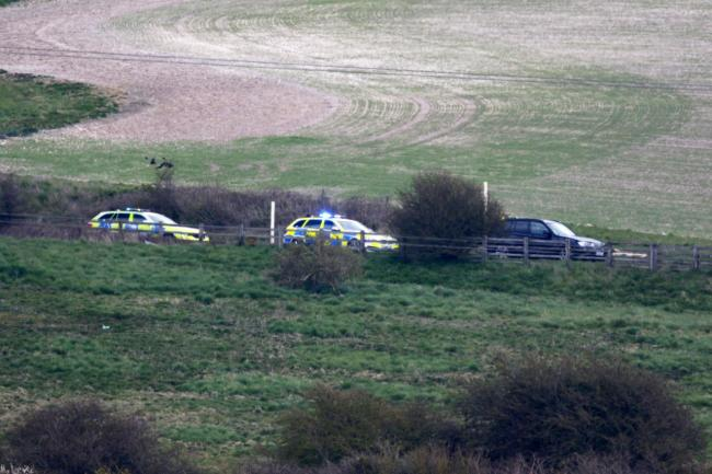 Disruption is expected for several hours as officers deal with a crash near Southease.