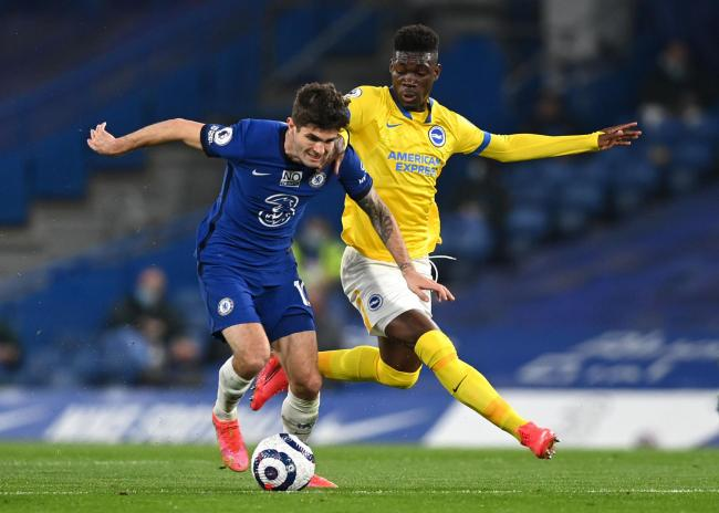 Yves Bissouma is your Albion man of the match in their goalless draw with Chelsea last night