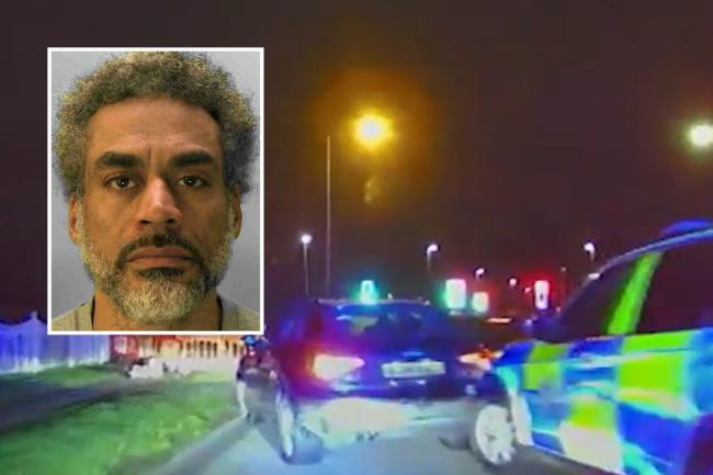 Dean Loughran-Oxley has been jailed after he was stopped by police following a chase on the A27