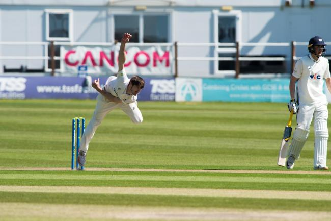 George Garton was the pick of the bowlers for Sussex as he finished the innings with figures of 3-25. Pictures by Lee Floyd