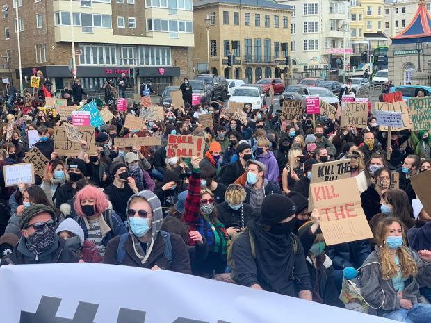 Another Kill The Bill protest is set to take place in Brighton this weekend