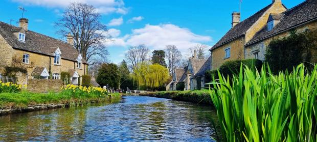 The Argus: Lower Slaughter in the Cotswolds