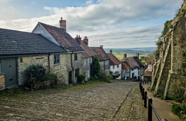 The Argus: Gold Hill in Dorset