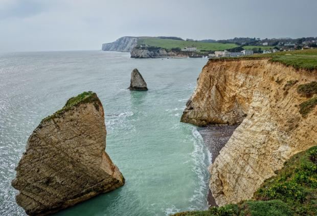 The Argus: The Mermaid and Stag Rocks at Freshwater Bay
