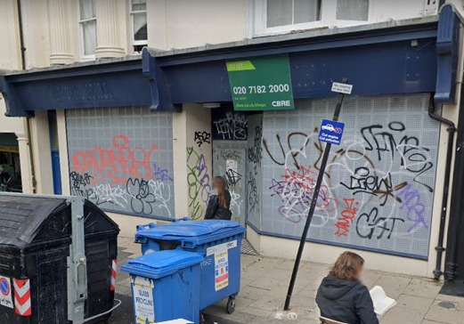 Plans have been revealed for the former William Hill betting shop in St Jamess Street, Brighton