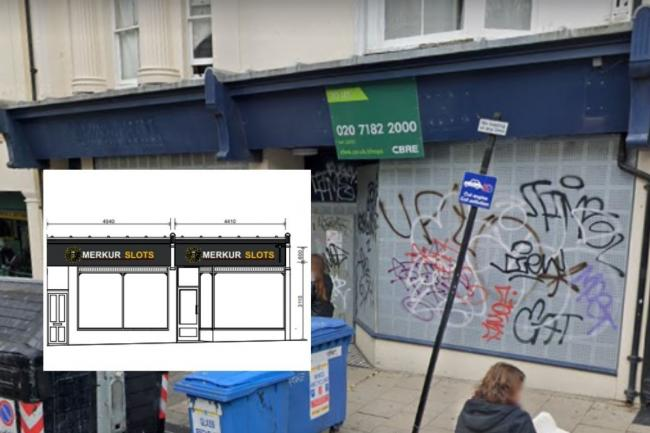 Plans have been revealed for the former William Hill betting shop in St James's Street, Brighton