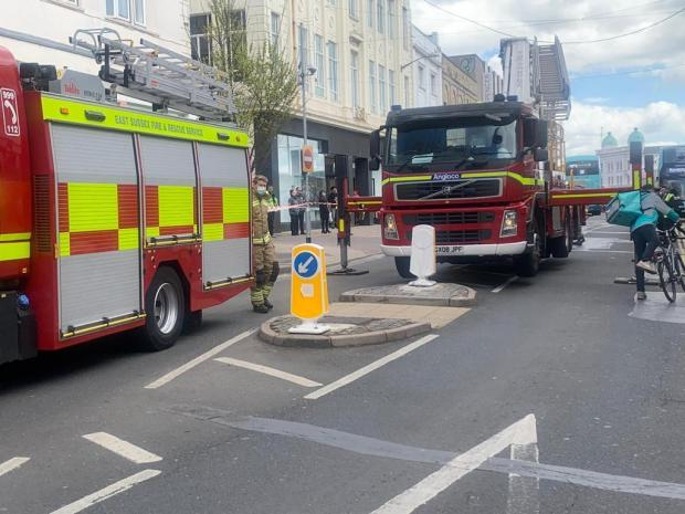 The Argus: Incident in Western Road