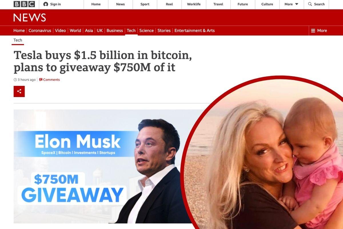 School teacher loses £9,000 in fake 'Elon Musk' Bitcoin scam
