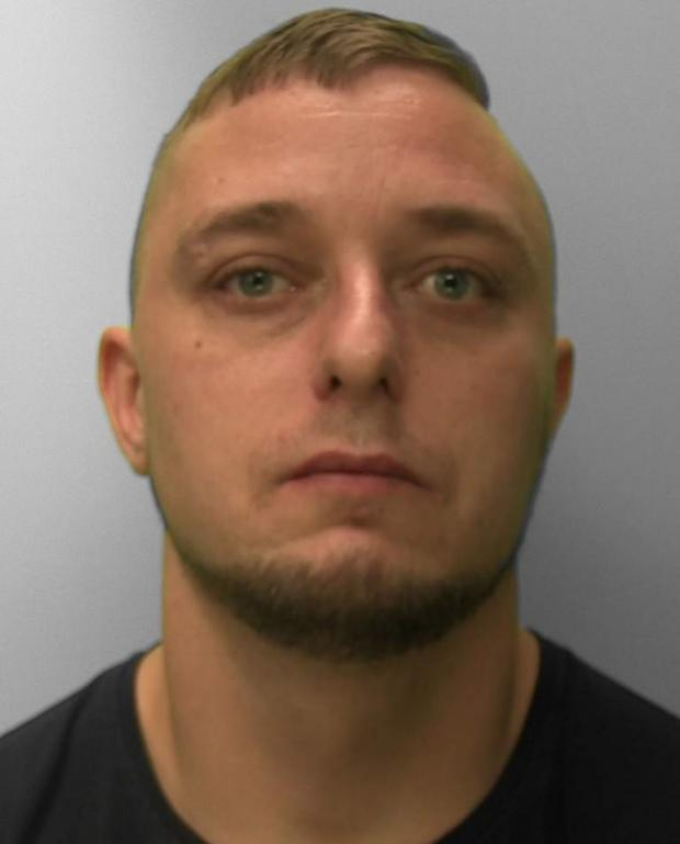 The Argus: Dean Ellis, 33, is a factory worker of Old Church Road, St Leonards.