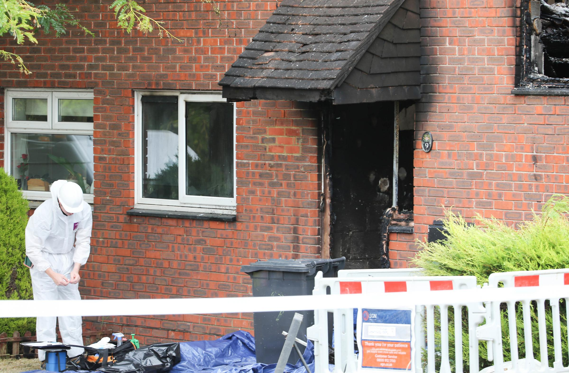 Andrew Milne and Jacob Barnard have been found guilty of the murders of Gina Ingles and Milo Ingles-Bailey and the attempted murder of Toby Jarrett at a house fire at Croxden Way, Eastbourne in July 2018