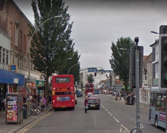 The Argus: London Road, Brighton