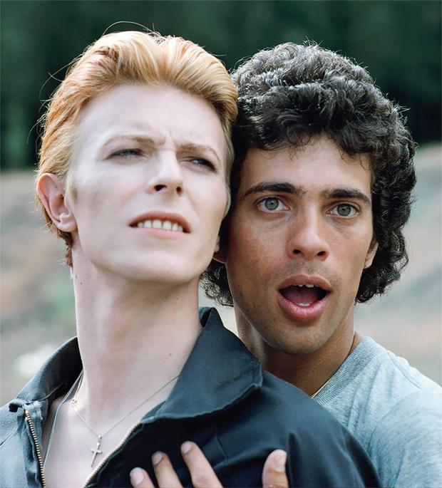 The Argus: David Bowie and Geoff MacCormack taken from the Brighton Museum exhibition