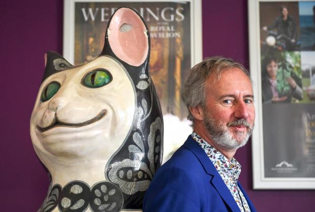 The Argus: Hedley Swain at Brighton Museum