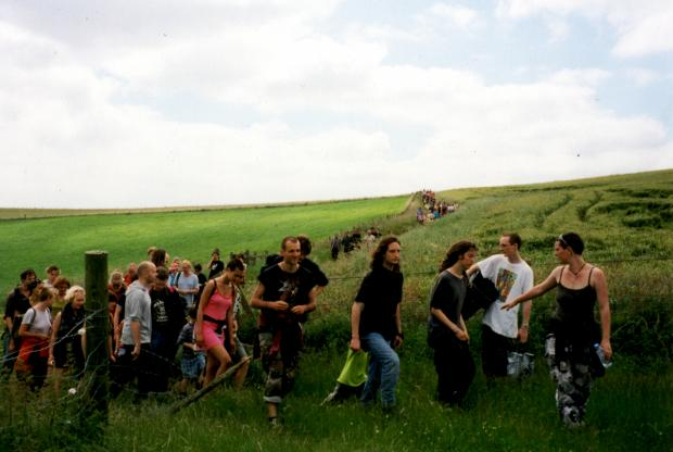 The Argus: A mass trespass is due to take place on the Brighton Downs on Saturday, July 24