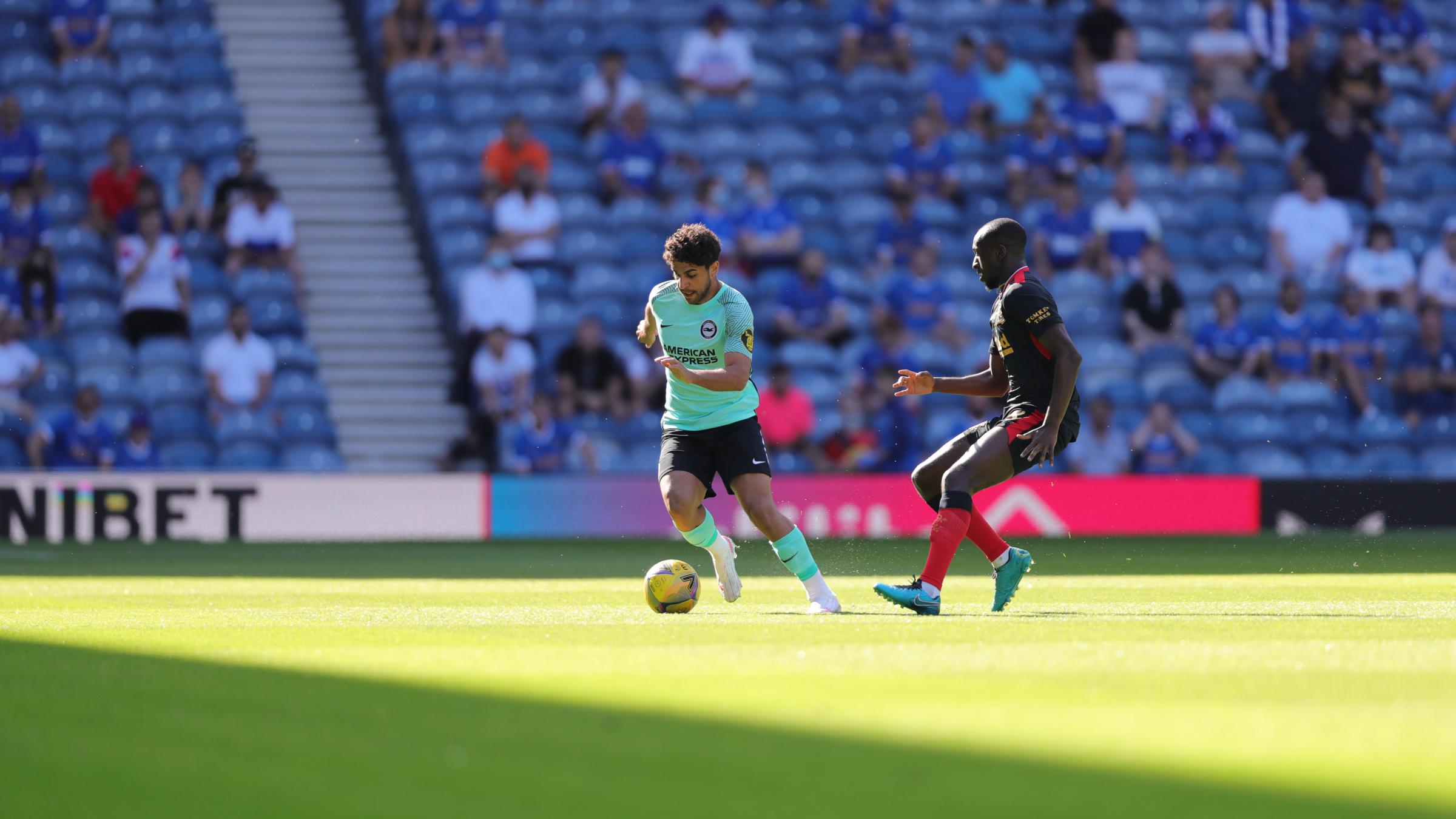 Brighton's Reda Khadra is set to finalise loan move to Blackburn Rovers