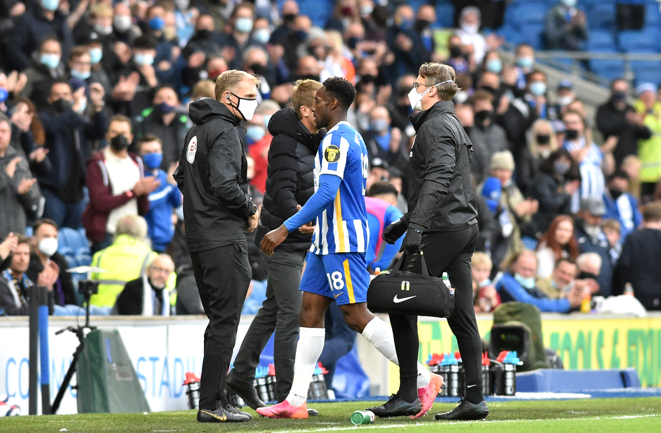 Brighton striker Danny Welbeck ruled out until September