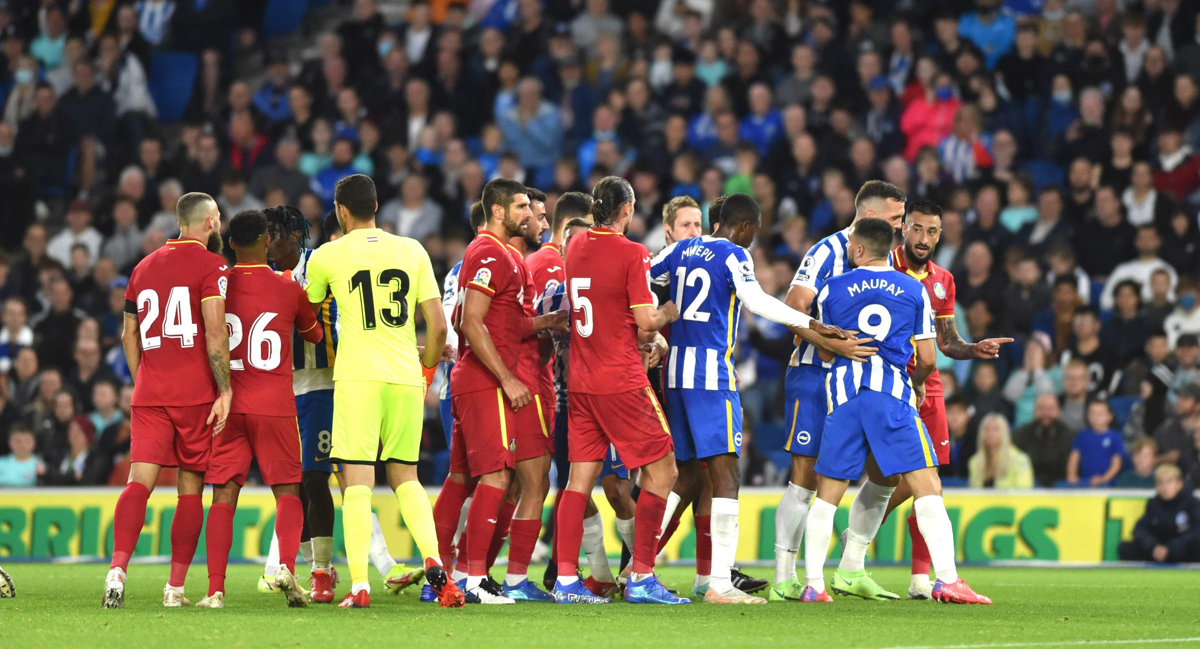 New Premier League ref John Brooks takes charge at Brighton