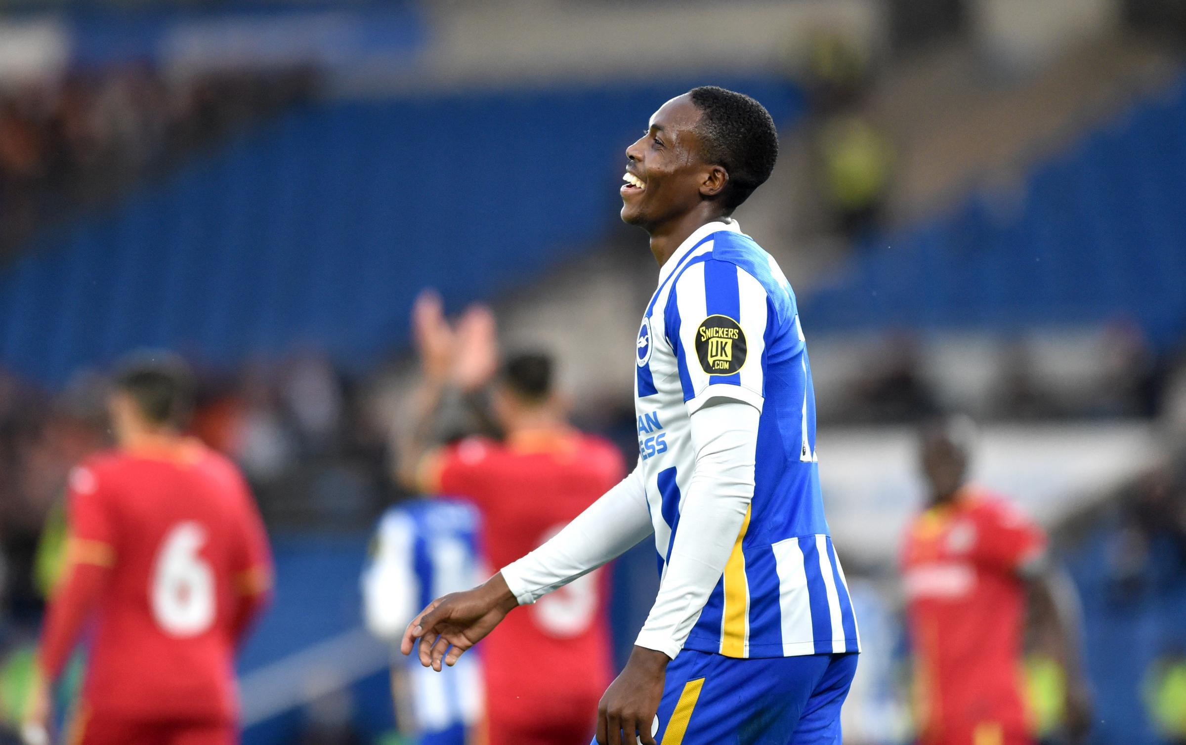 Brighton's Enock Mwepu earns praise from Graham Potter
