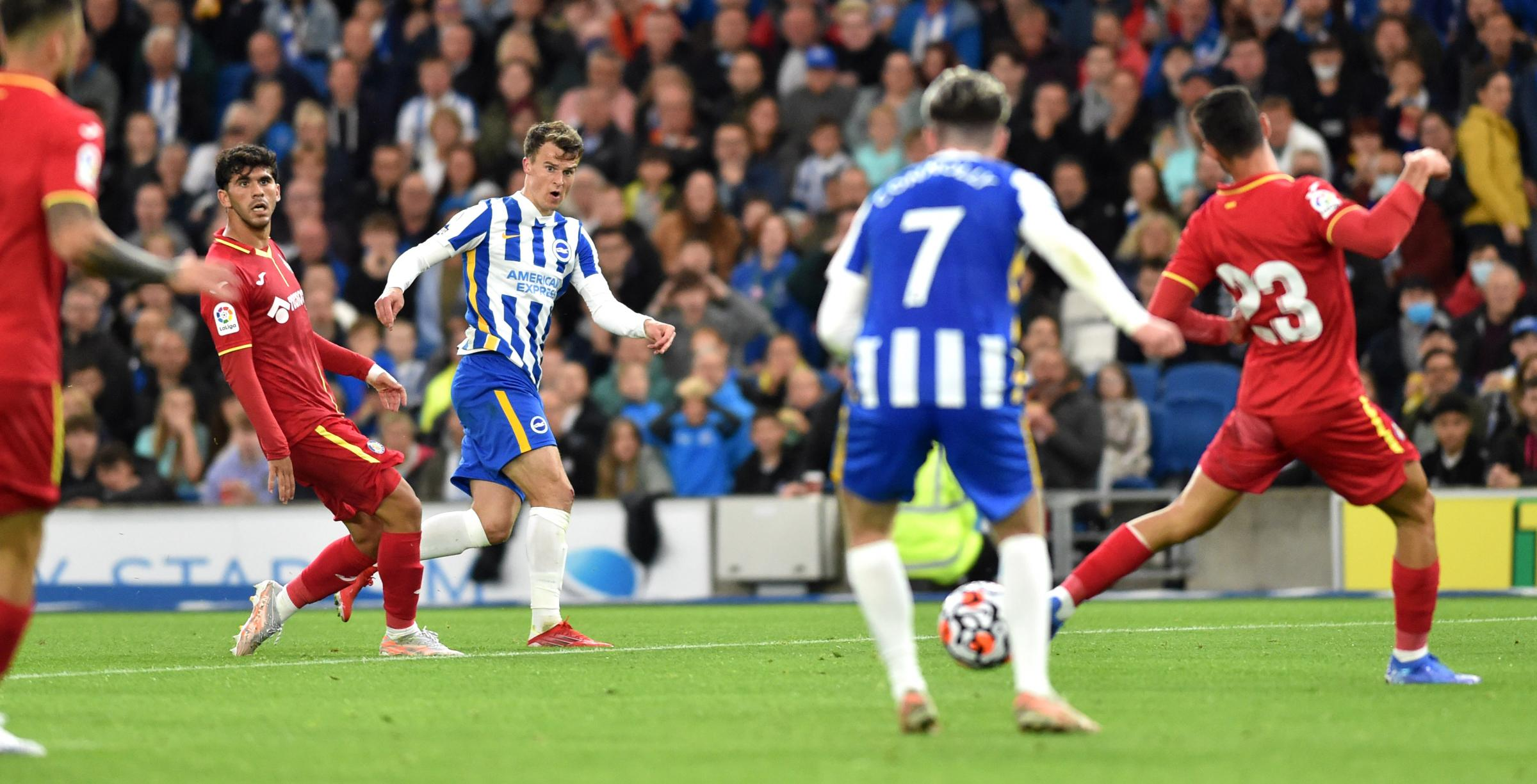 Graham Potter says Brighton deserved to score versus Getafe