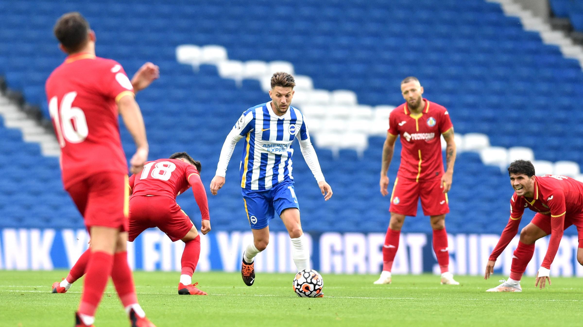 Brighton complete pre-season 2021 by losing to Getafe