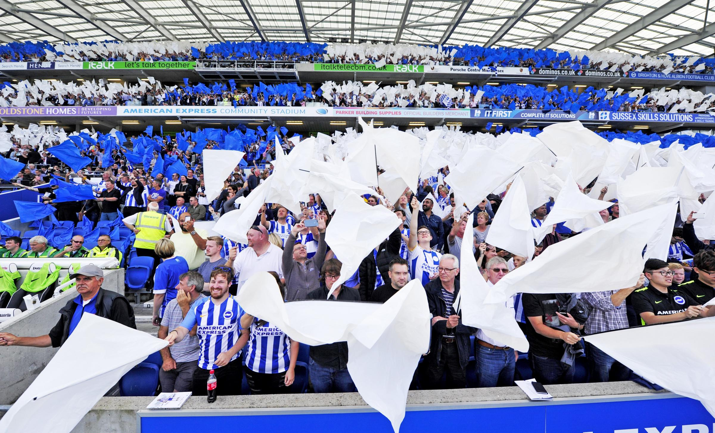 Flashback: Albion's welcome to the top-flight from Citizens