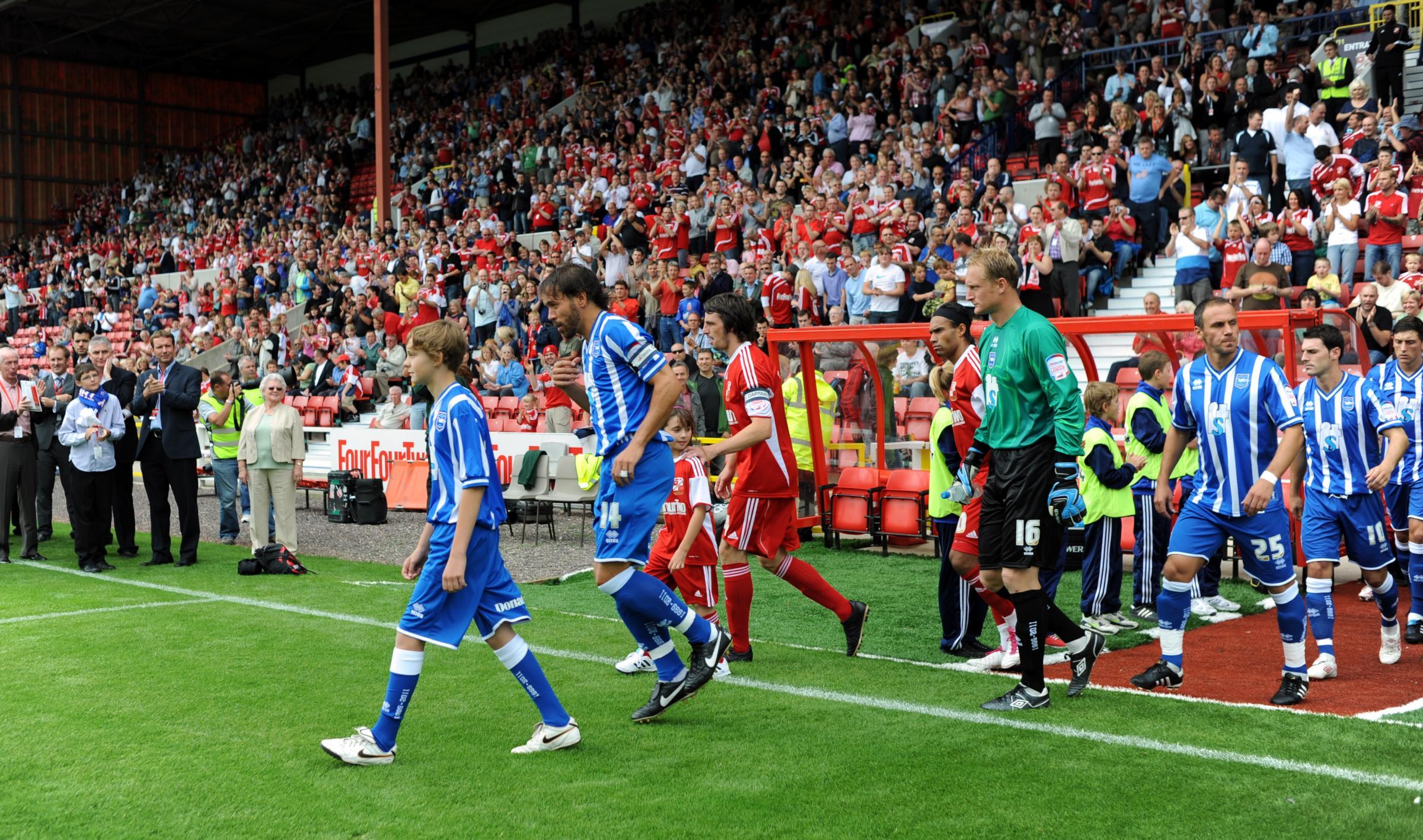 Flashback: Sparrow's memorable Albion debut against Swindon