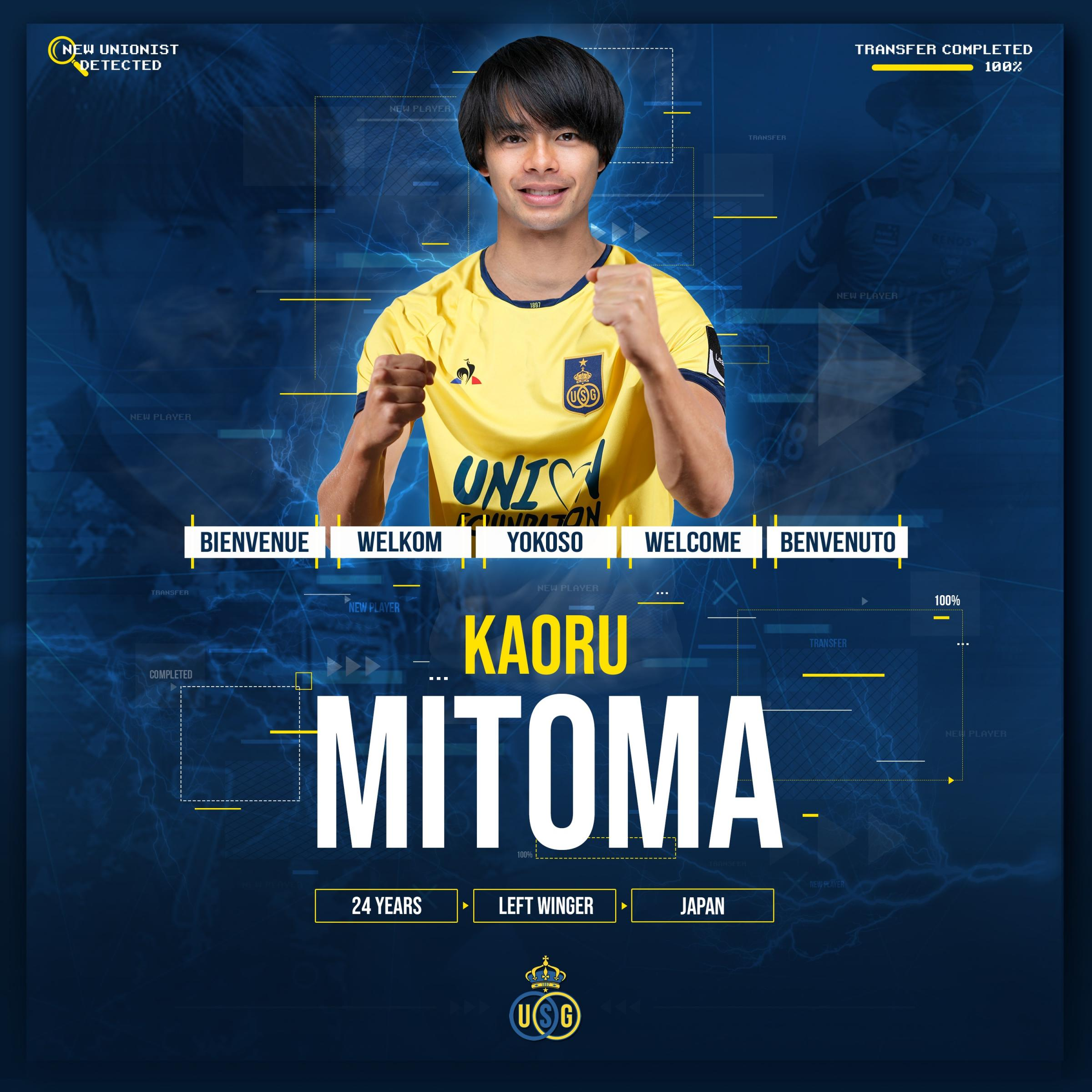 Brighton's hopes for Japan international Kaoru Mitoma