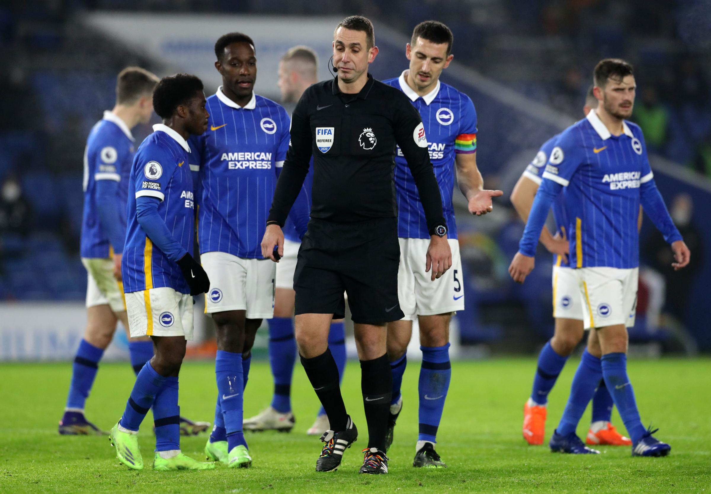 David Coote will take charge of Brighton's Premier League opener against Burnley
