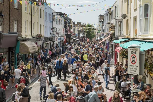 The Argus: North Laine offers a wide range of independent and original Brighton stores