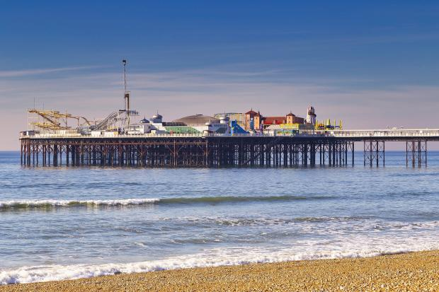 The Argus: Stretching for more than 500 meters in the English Channel, Brighton Palace Pier is the quintessential landmark of the city