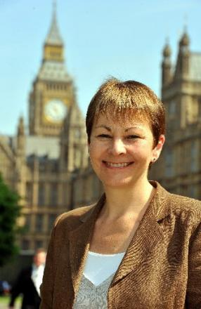 Caroline Lucas says she has returned Brighton pebble