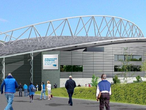 Brighton's American Express Community Stadium unveiled